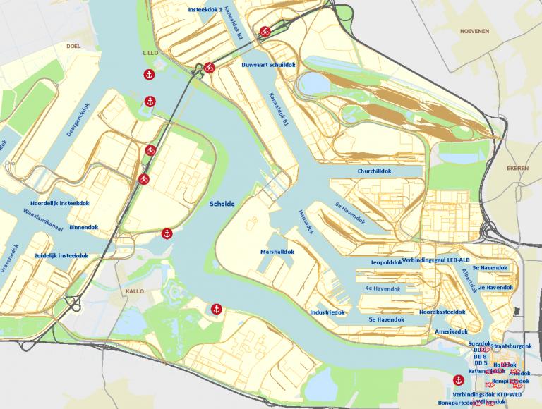 Antwerpen Binnenvaartkennis