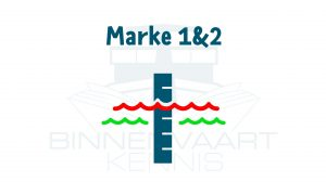 Pegelstanden Marke l, ll en lll Duitse vaarwegen