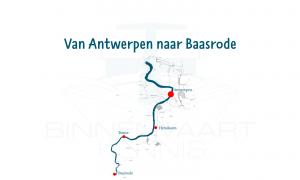 Van Antwerpen naar Baasrode