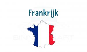 Overzicht Franse Vaarwegen